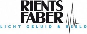 Logo-Rients-Faber-licht-geluid-beeld-zwarte-letters-371x147